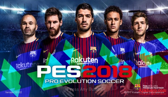 download game pes 2018