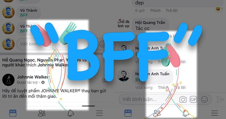 BFF là gì? Cách tạo hiệu ứng vỗ tay trên Facebook
