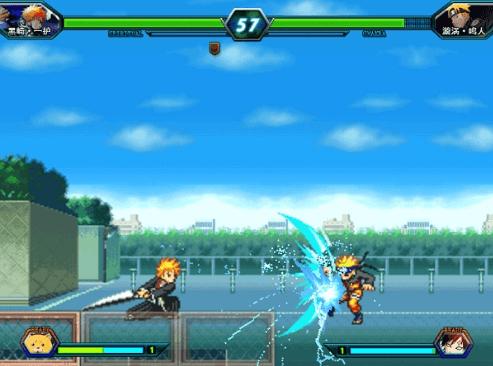 game Bleach vs Naruto 3.0