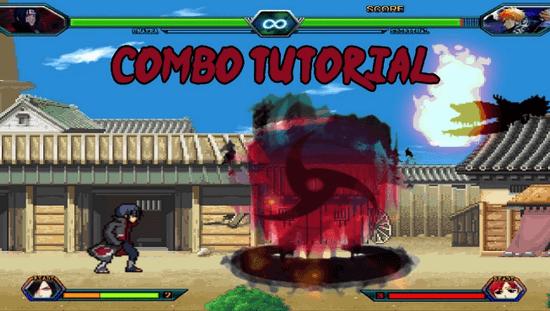 Game Bleach vs Naruto 3.1: Naruto 3.1