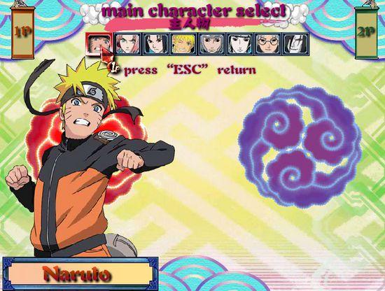 game Naruto quyết đấu 3