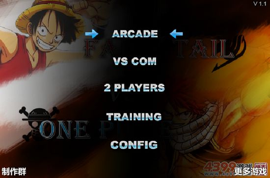 Game One Piece vs Fairy Tail 1.1: Trò One Piece 1.1