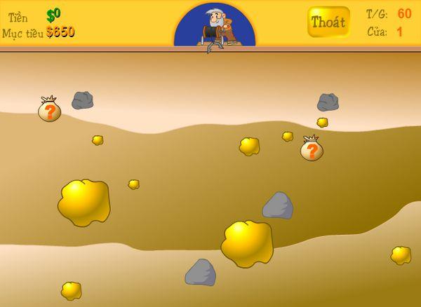game đào vàng