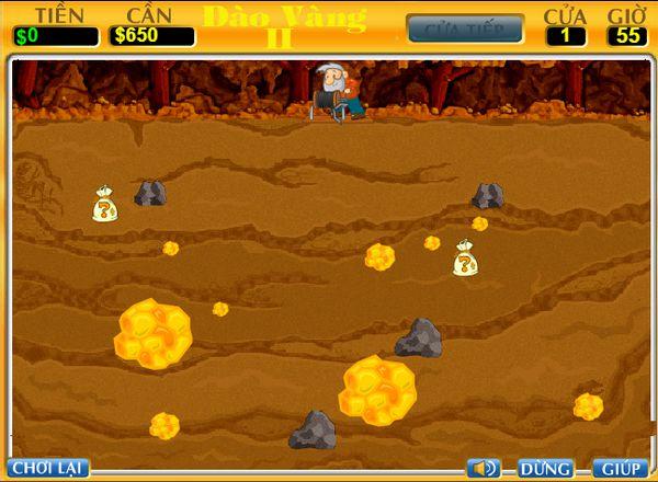game đào vàng 2