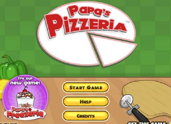 Game làm bánh Pizza: Trò chơi làm bánh Pizza