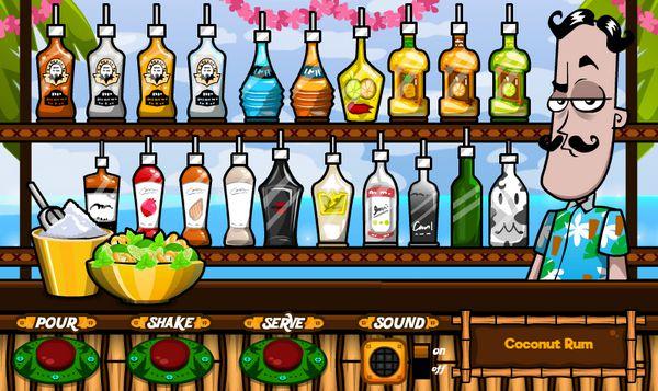 game pha chế rượu