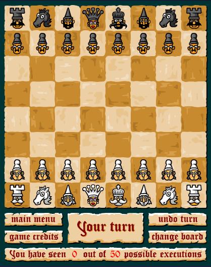 Giới thiệu trò chơi Cờ vua kinh dị