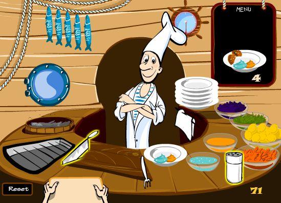 Game Anh đầu bếp vui tính