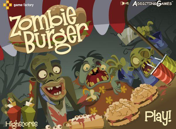 Game Bán bánh cho Zombie