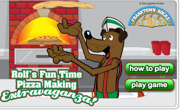 Game Chế biến bánh Pizza