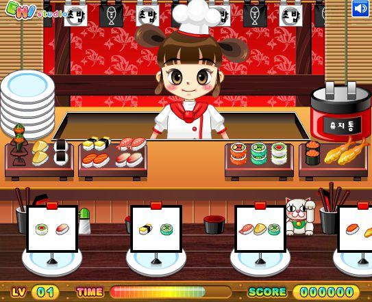Game Cửa hàng Sushi 2