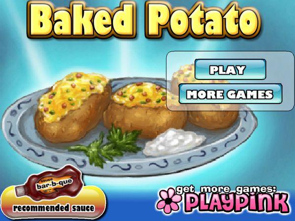 Game Làm món khoai tây nướng