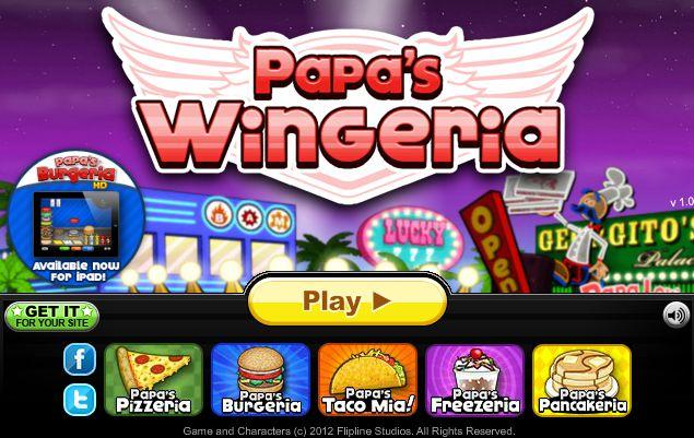 Game Nhà hàng gà rán Papa