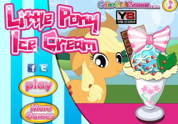 Game Pony làm kem