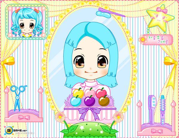 Game tạo mẫu tóc cho Alice