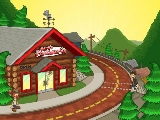 Game Tiệm bánh kẹp của Papa