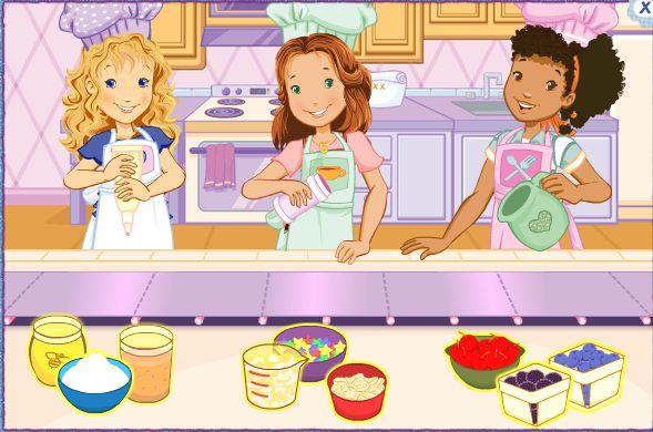 Game Trang trí bánh nướng