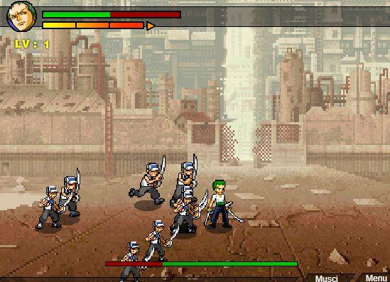 Game Anime đại chiến