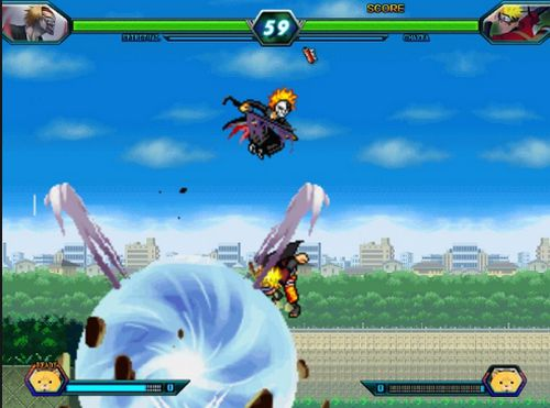 game Bleach vs Naruto 3.4