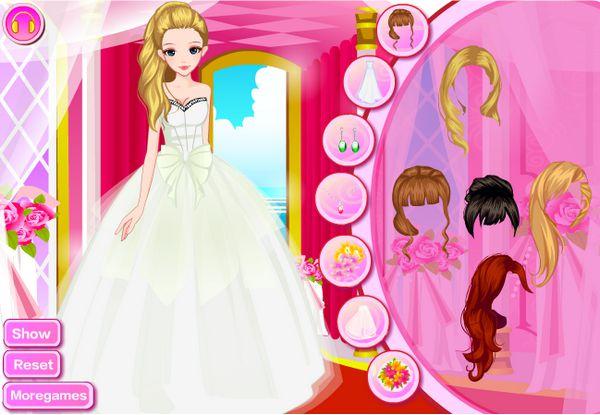 Game cô dâu ngày cưới