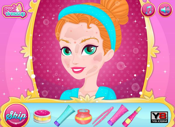 Game công chúa làm đẹp
