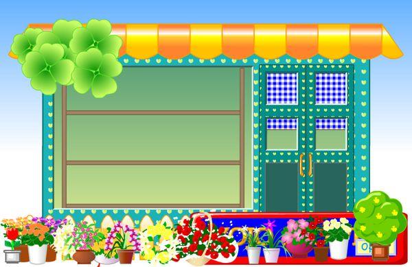 Game cửa hàng bán hoa