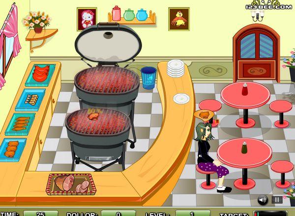 cửa hàng đồ nướng