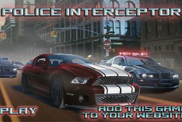 game tập lái xe cảnh sát