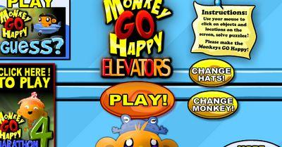 Game chú khỉ buồn trong thang máy: Trò chú khỉ buồn