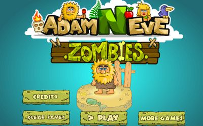 Game Adam đối mặt Zombie: Adam 'N' Eve Zombies
