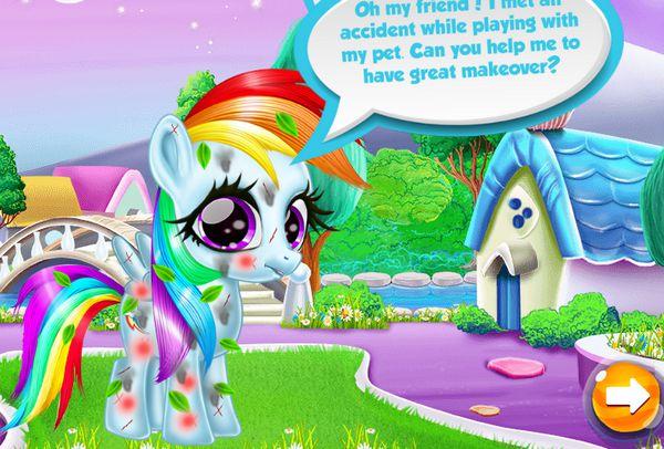 Chăm sóc ngựa Pony