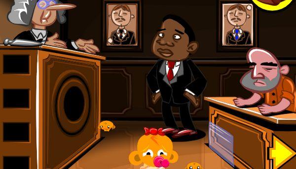 Game chú khỉ buồn ở tòa án: Trò chơi chú khỉ buồn