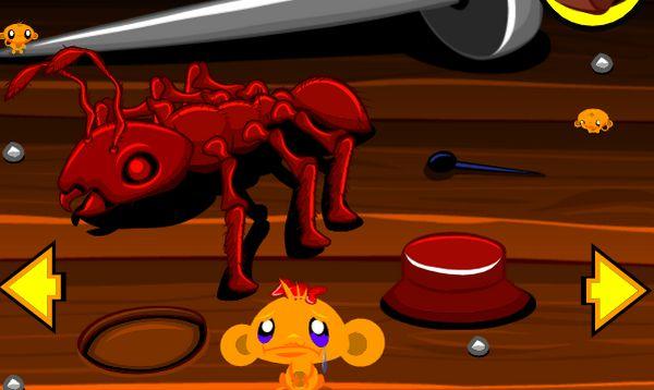 Game chú khỉ buồn tìm khỉ con 2: Trò chơi chú khỉ buồn