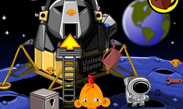 Game chú khỉ buồn trên sao hỏa: Trò chơi chú khỉ buồn