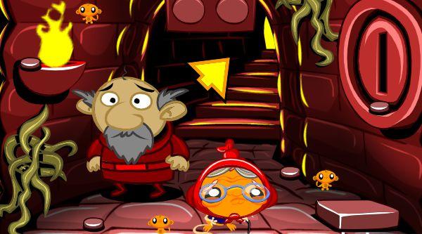 Game chú khỉ buồn trong lâu đài ma: Trò chơi chú khỉ buồn