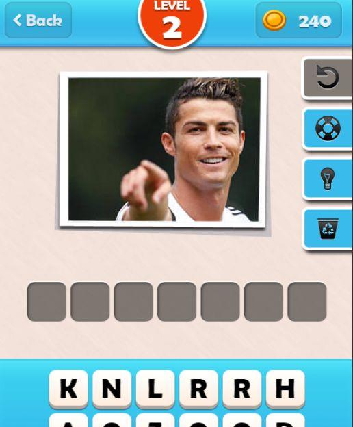đoán tên cầu thủ bóng đá