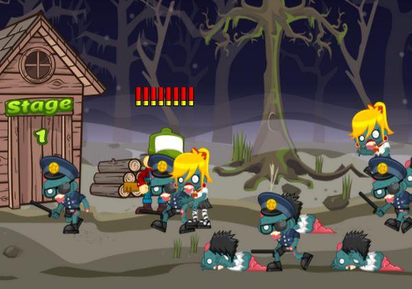 game đối mặt Zombie