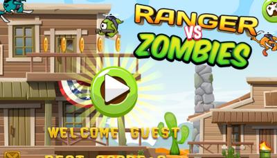 Game Ranger tiêu diệt Zombie: Ranger vs Zombies