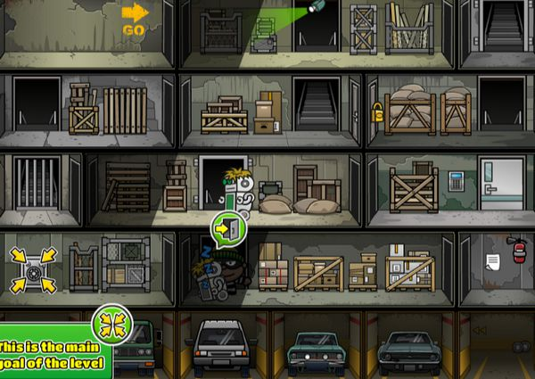 game siêu trộm thông minh