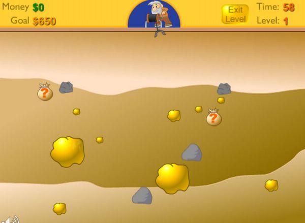 game đào vàng Y8