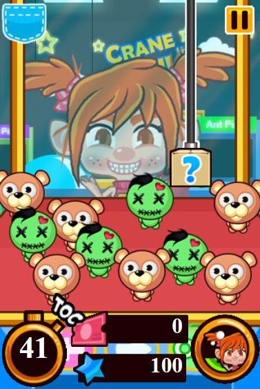 game gắp búp bê Zombie