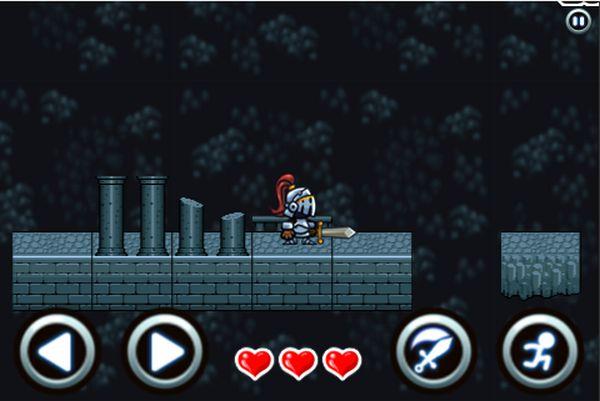 game hiệp sĩ tìm kho báu