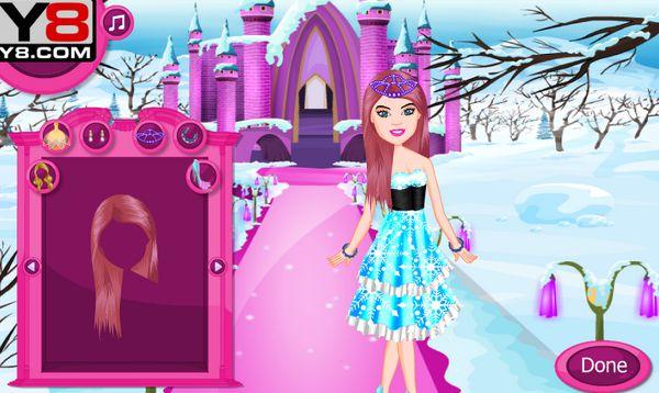 thời trang cô chúa bạch tuyết 1