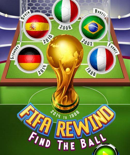 Game tìm quả bóng bị ẩn: Fifa Rewind Find the Ball