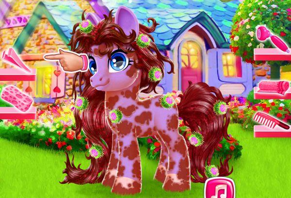trang trí ngựa Pony 1