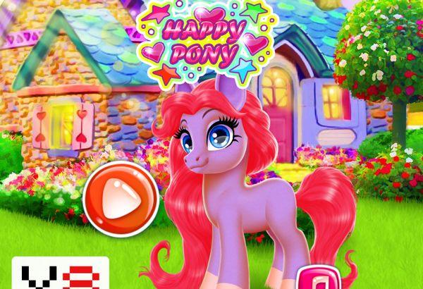 Game trang trí ngựa Pony: Happy Pony