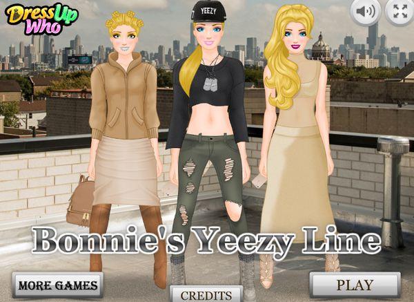 Game 3 cô nàng tuổi Teen: Bonnie's Yeezy Line