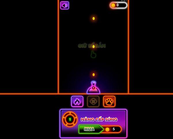 bắn bóng Neon