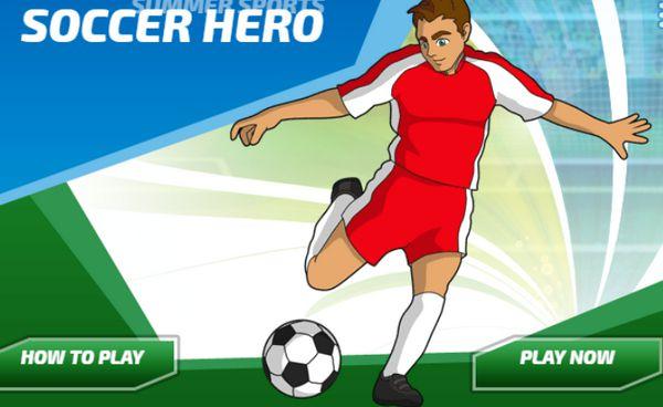 Game siêu tiền đạo đá bóng: Soccer Hero