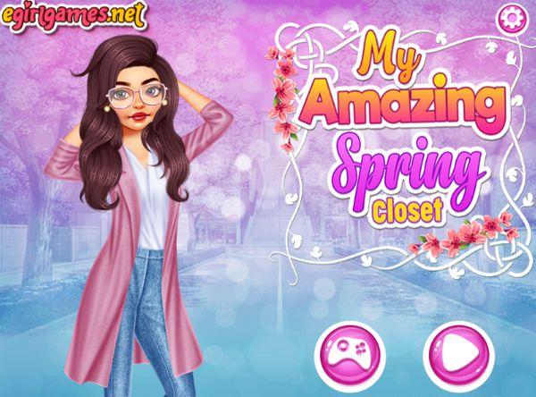 Game thời trang cô nàng sành điệu: My Amazing Spring Closet